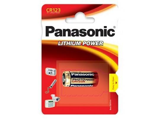 Panasonic -CR 123